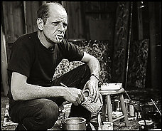 Jackson Pollock painting  Jackson Pollock Self Portrait