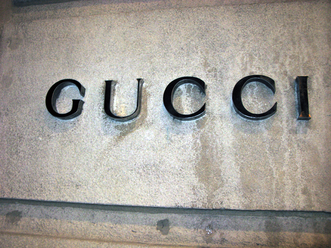 GUCCI logo with U