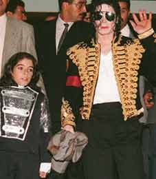 Omer Bhatti and Michael Jackson